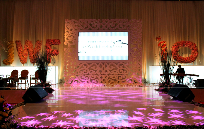 JWF Fashion Show Stage ; JJ Bride Show ; Located in JCC ; Lighting supported by Lightworks