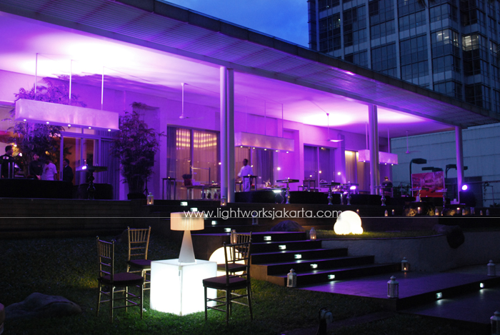 Ira's Birthday Party ; Decorated by Flora Lines ; Located in Grand Hyatt's Terrace - OnFive ; Lighting by Lightworks