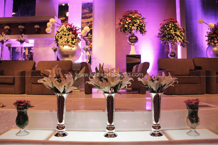 Michael Tjandra & Jeniffer's Wedding ; Organized by Kenisha Wedding Organizer ; Located in Upperroom Jakarta ; Lighting by Lightworks
