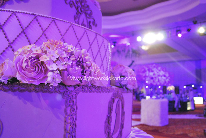 Wilson & Eliska's Wedding ; Decorated by Image Decor ; Located in Ritz Hotel Kuningan ; Lighting by Lightworks
