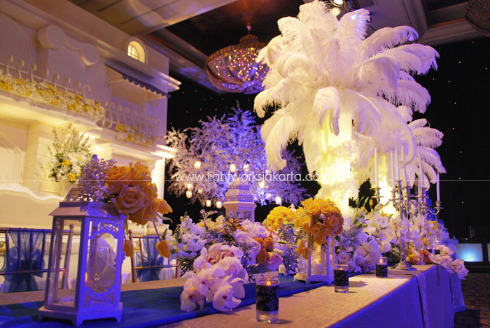 Raymond and Elice's Wedding ; Decorated by Vica Decor; Located in Mulia Hotel; Lighting by Lightworks