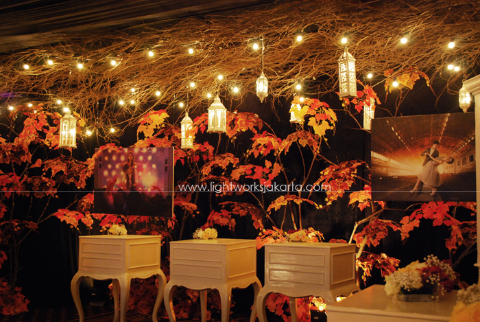 Martin and Yelena's Wedding ; Decorated by Vica Decor; Located in The Grand Ballroom Hotel Mulia ; Lighting by Lightworks