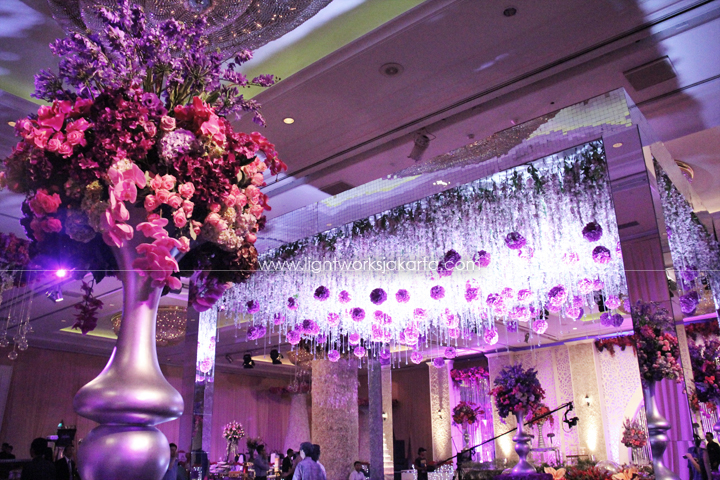 Gazebo lightworks kenny prettys wedding decorated by lotus design located in shangri la hotel junglespirit Images