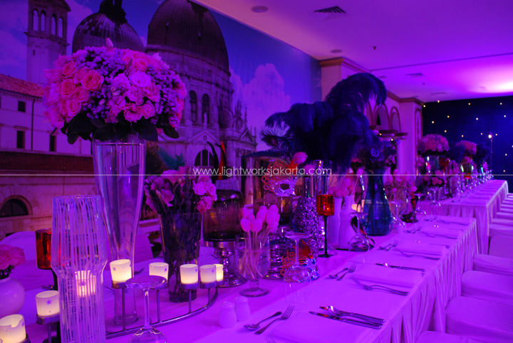Karina 17th Birthday ; Decoration by Lotus Design ; Located in Onfive Grand Hyatt Hotel ; Lighting by Lightworks