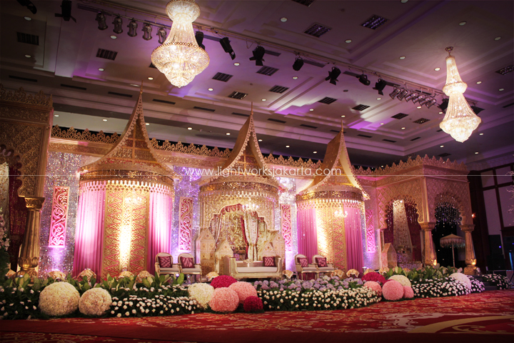 Golden lightworks decorated by elly kasim suryantos located in dhanapala lighting by lightworks junglespirit Choice Image