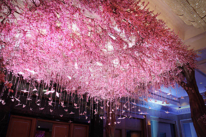 Plants lightworks decoration by lotus design located in four seasons hotel lighting by lightworks junglespirit Gallery