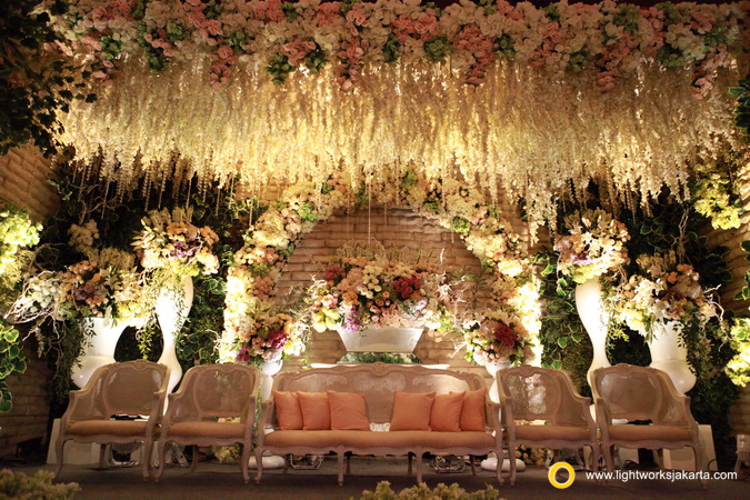 Irvin and Johana's Wedding; Venue at Damai Indah Gold, Pantai Indah Kapuk; Decorator by Lotus Decoration; Lighting by Lightworks