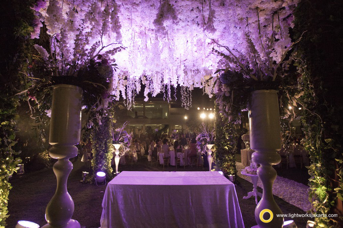 Chris and Philene's Wedding Reception; Decoration by Lotus Decoration; Lighting by Lightworks