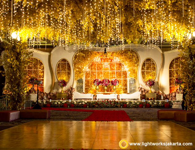 Vincent and Erika's Wedding Reception | Organized by Precious Moment WO | Cake by LeNovelle Cake | Entertainment by Widya Kristianti Orchestra | Photo and Video by PPF Photo and Video | Master of Ceremony by Allan Stevens | Decoration by DeSketsa Decoration | Lighting by Lightworks