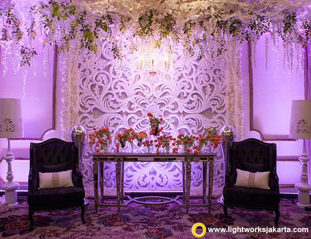 Michael and Karina's Wedding Reception | Venue at Fairmont Hotel Jakarta | Organized by One Heart Wedding Jakarta | Master of Ceremony and Entertainment by Ronny Sianturi Team | Photography and Videography by Mario The Nine | Decoration by One Heart Wedding Jakarta | Lighting by Lightworks