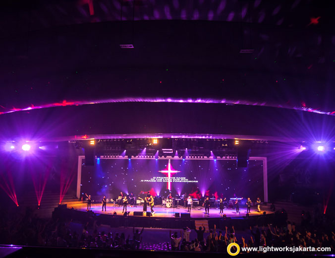Atmosphere 3rd Anniversary | Venue at Christ Cathedral BSD | Special Perfomance by Momo Geisha | Lighting by Lightworks