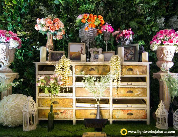 Patrick and Sheila wedding reception   Venue at Le Meridien Jakarta   Decoration by White Pearl Decoration   Lighting by Lightworks