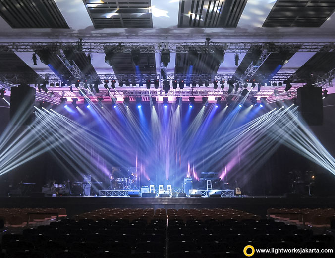 The 90's Soul Ace | Venue at The Kasablanka Hall | Artists: Brown Sugar, Brian McKnight, Boyz II Men, Raissa | Sound system by Soundworks Jakarta | Lighting by Lightworks