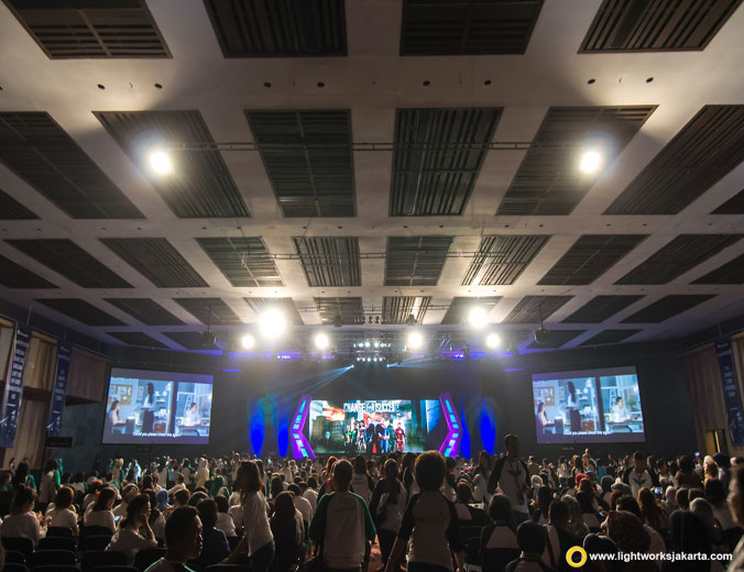 Manulife | Venue at The Kasablanka Hall | Lighting by Lightworks