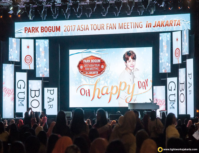 Park Bogum Fan Meeting | Venue at The Kasablanka Hall | Lighting by Lightworks