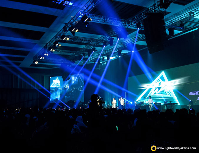 Cramsisco XI | Venue at The Kasablanka Hall | Artists: Sheila On 7, Sisitipsi, Sheryl Sheinafia | Lighting by Lightworks