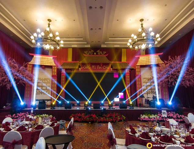 Royal Spring Festival | Venue at The Springs Club | Organised by Party Works Event Organizer | Lighting by Lightworks