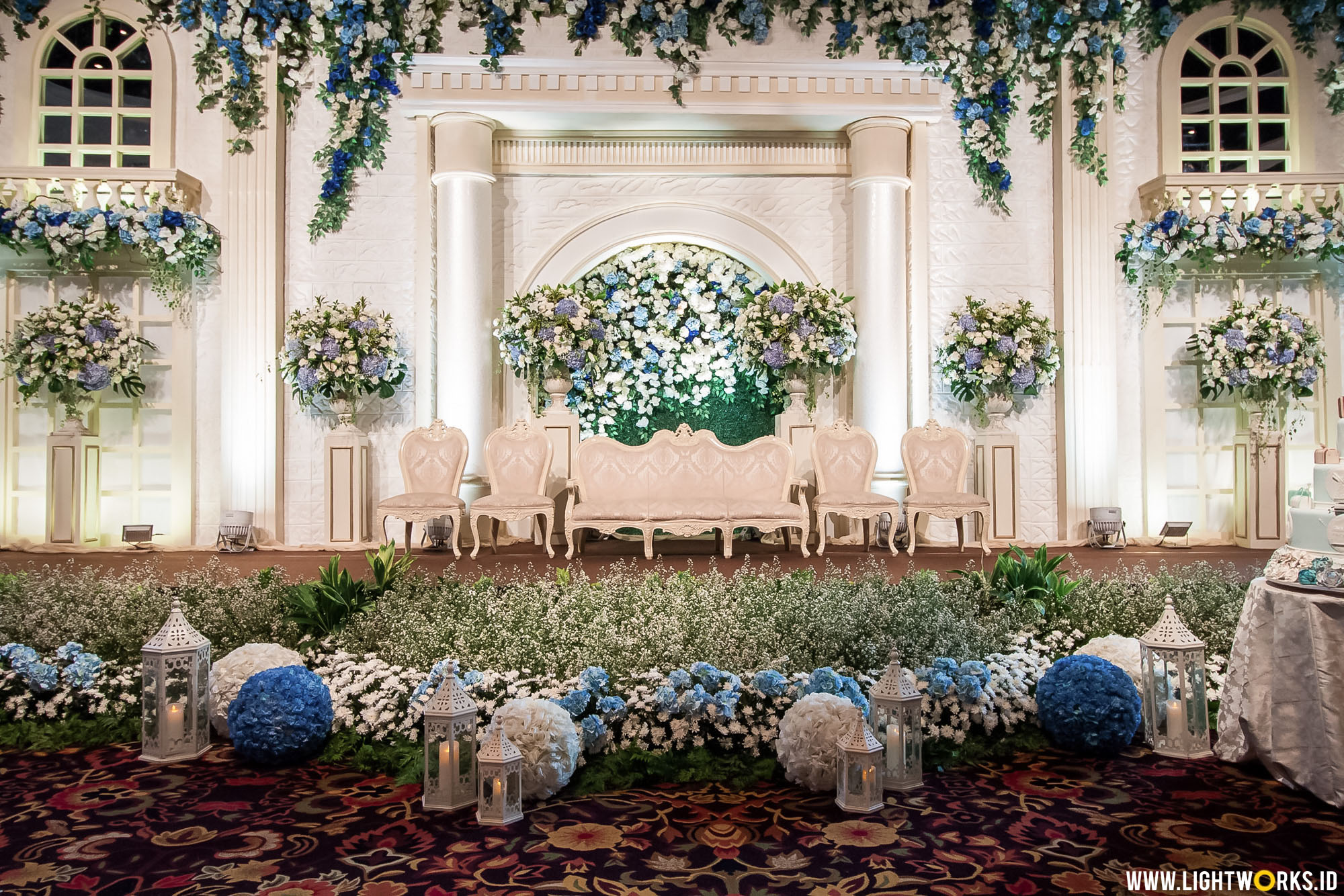 The wedding of Nikko and Fania | Venue at Sampoerna Strategic Square | Decoration by Grasida Decor | Organised by Kreativ Things | Gown by Fetty Rusli | MUA by Adi Adrian | Catering by Akasya Catering & Co. | Cake by LeNovelle Cake | Entertainment by Kana Entertainment | Florist by Lily Florist & Decoration and Grasida Decor | Photobooth by Moments To Go | Invitation by Honey Cards | Souvenier by Red Ribbon Gift | Lighting designer by Epafras Septian | Lighting coordinator by Meyliana Tan | Lighting by Lightworks